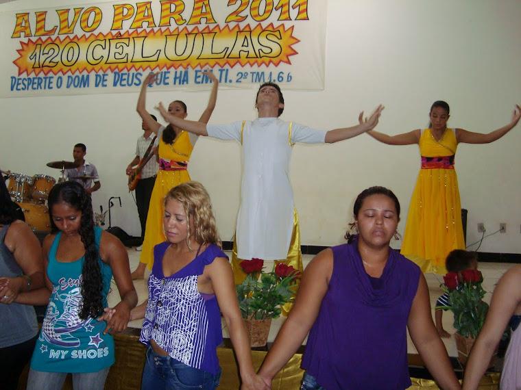 Chegada Encontro Feminino (15/05/11)