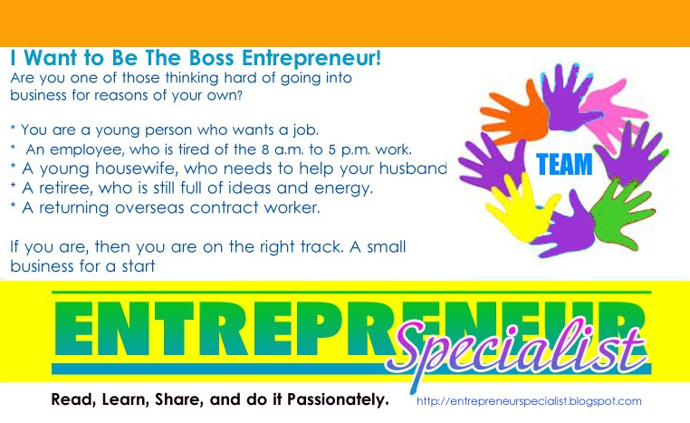 Entrepreneur Specialist