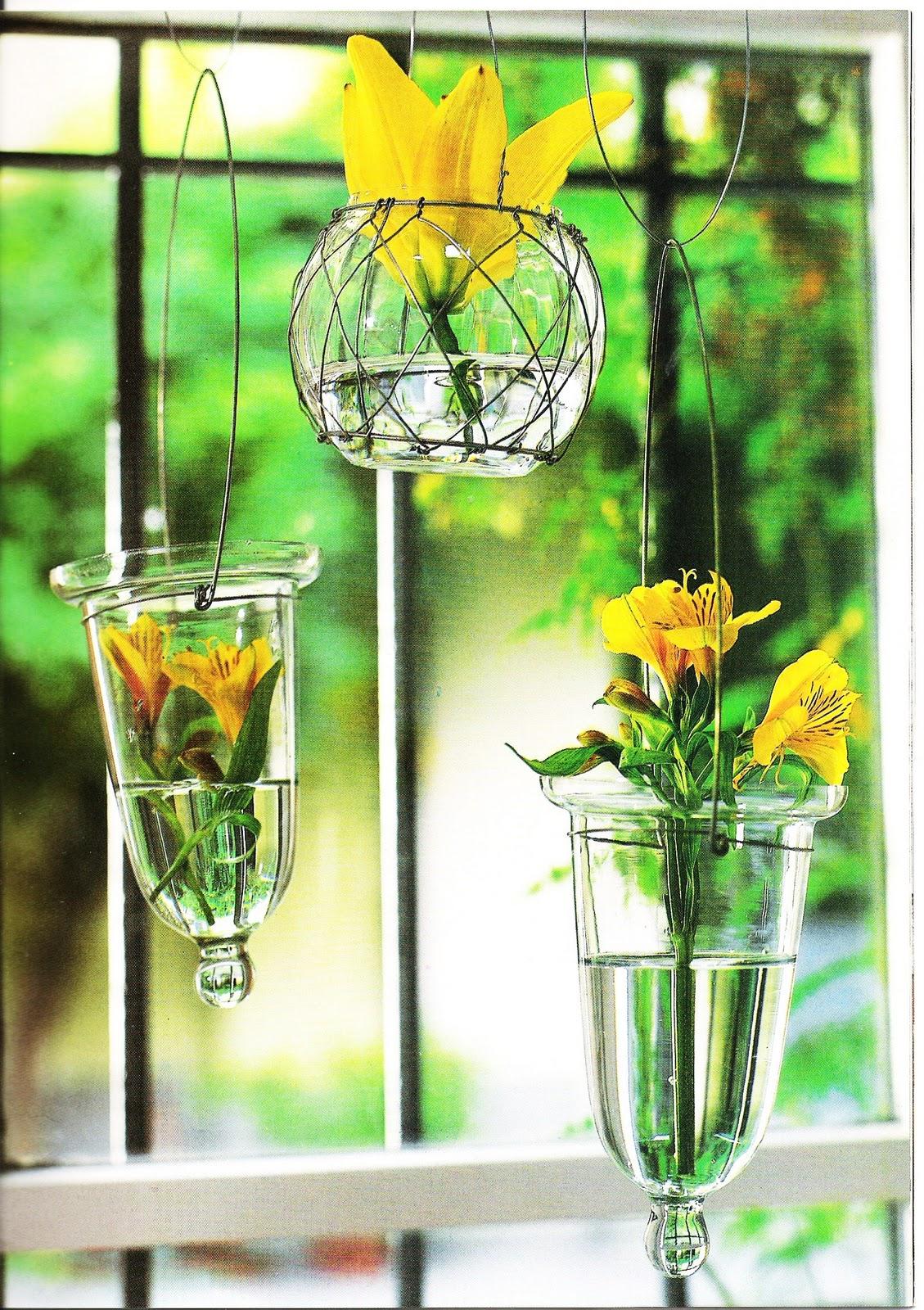 Il giardino sfumato fiori da appendere for Vasi appesi