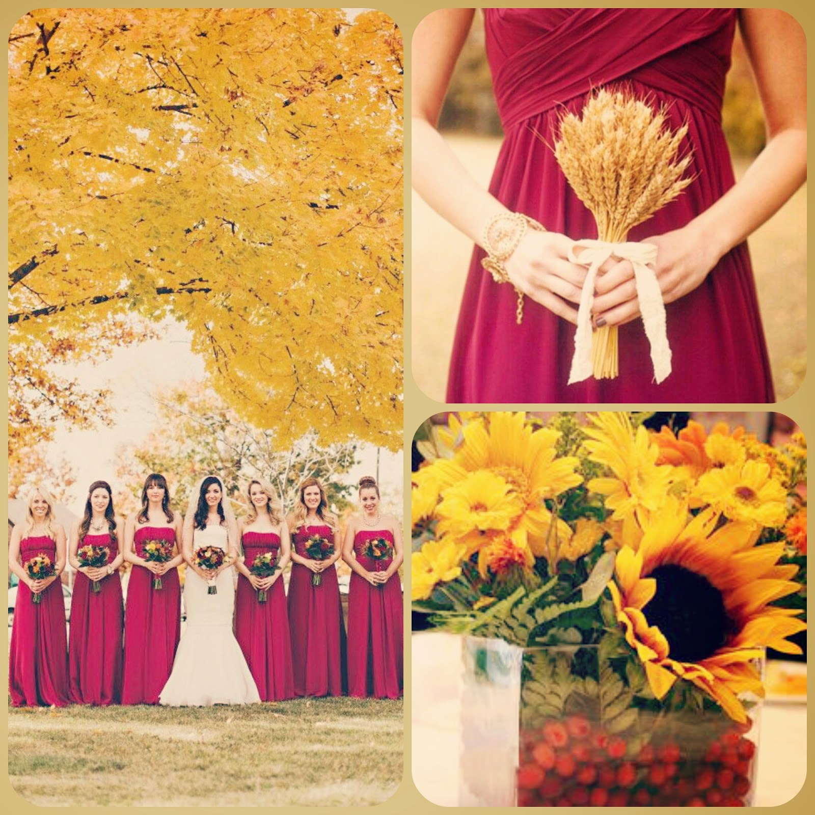 Fall Wedding Colors | Wedding Inspirations Bridal Boutique Event ...