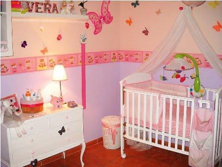 Baby shower y consejos para bebes dormitorio bebe inicie - Dormitorio de bebe nina ...