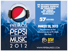 V O T A en los Premios Pepsi Music 2012