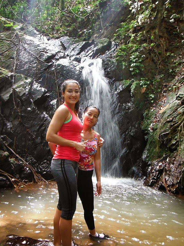 Southern Thailand waterfall trekking