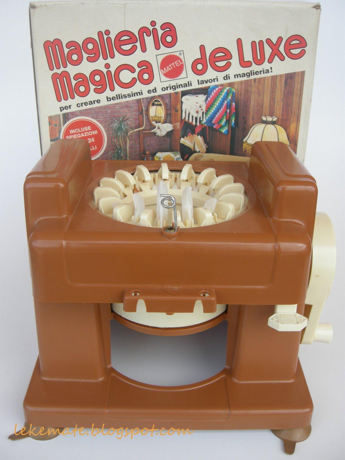Gioco vintage la maglieria magica - Dolce forno gioco ...