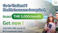 Go to Thailand. Health Insurance Required.