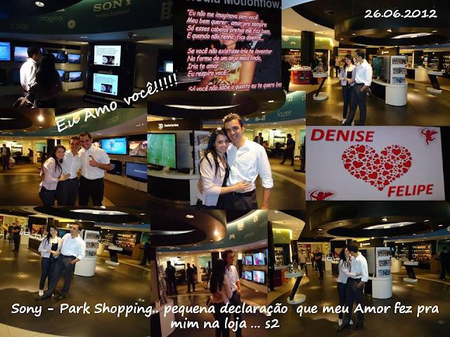 vídeo da declaração no Park Shopping de Brasília