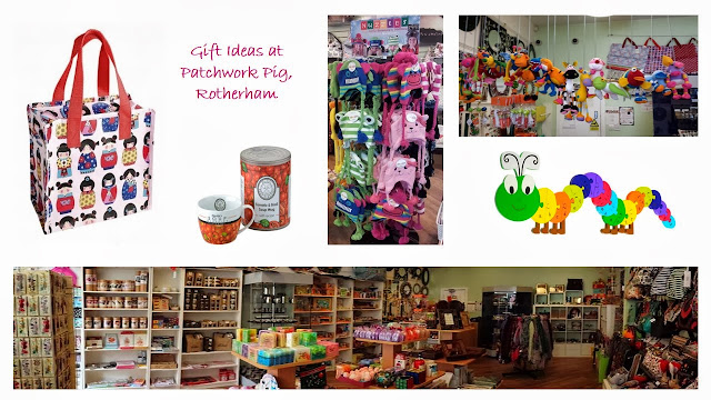 Gift ideas - Patchwork Pig, Rotherham