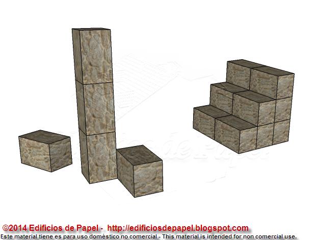 Los bloques pueden usarse para distintos fines