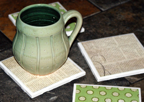 Handmade Coasters DIY - How to Make Coasters for Your Home and as Gifts