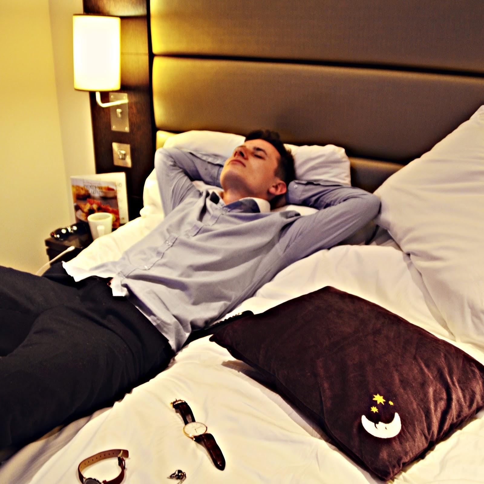Premier Inn Holborn beds