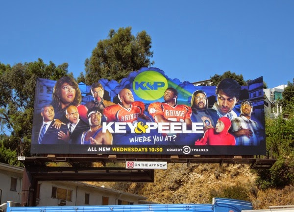 Key Peele season 4 Where you at? billboard