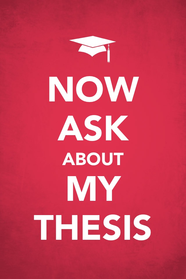 degree by thesis Guidelines for the preparation of your master's thesis to write theses for their master's degree and shape the degree work and resulting thesis.