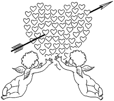 Love Coloring Pages for Kids