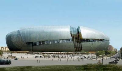 Imagem externa estádio Valencia
