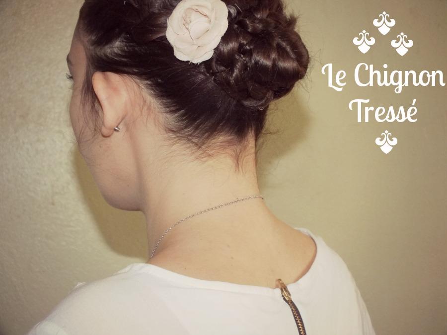 Hair Tutorial #1: Le Chignon Tressé