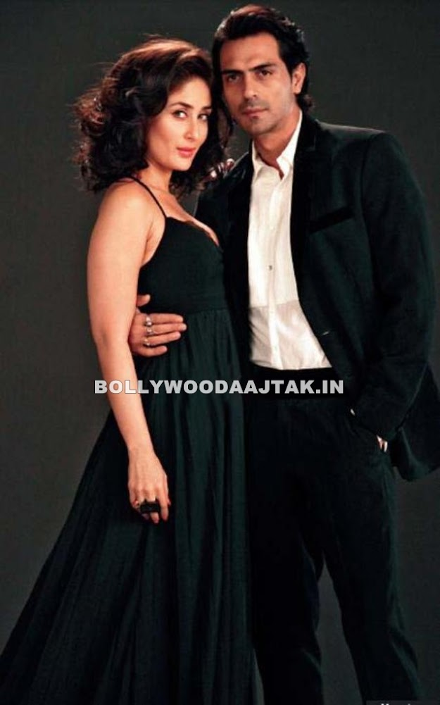 Kareena featured in a black gown  - (3) -  Kareena Kapoor & Arjun Rampal Heroine Movie Photoshoot
