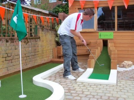 UrbanCrazy's Garden Mini Golf course in East Finchley, London is one of the courses I wrote about in my guest blog for the company
