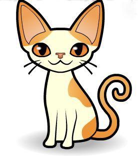 Curlz and Swirlz...: Wordless Wednesday...Cartoon Cats