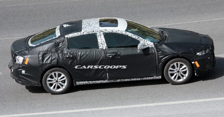 All-New 2017 Chevrolet Malibu Scooped in the Making