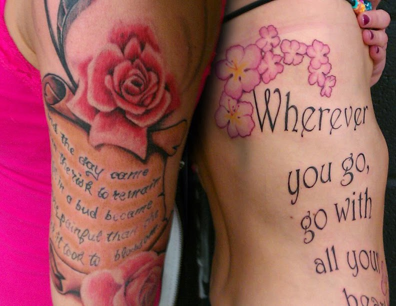 Tattoo Quotes On Ribs