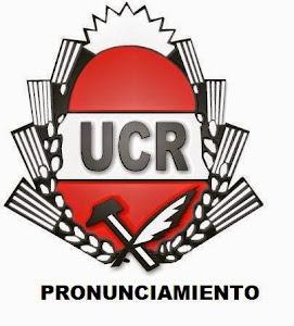 UCR de Pronunciamiento