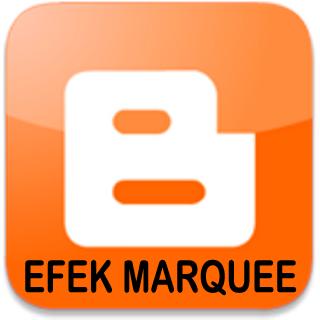 Cara Membuat Efek Marquee Di Blog