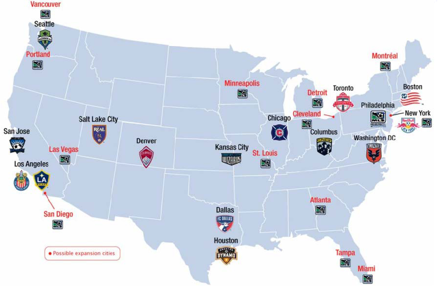 Mls soccer expansion