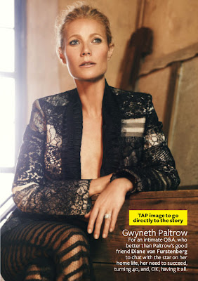 Gwyneth Paltrow InStyle Magazine October 2012 Cover Girl - Beautiful Female Photos