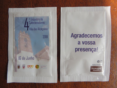 Colecionismo de Pacotes de Açúcar