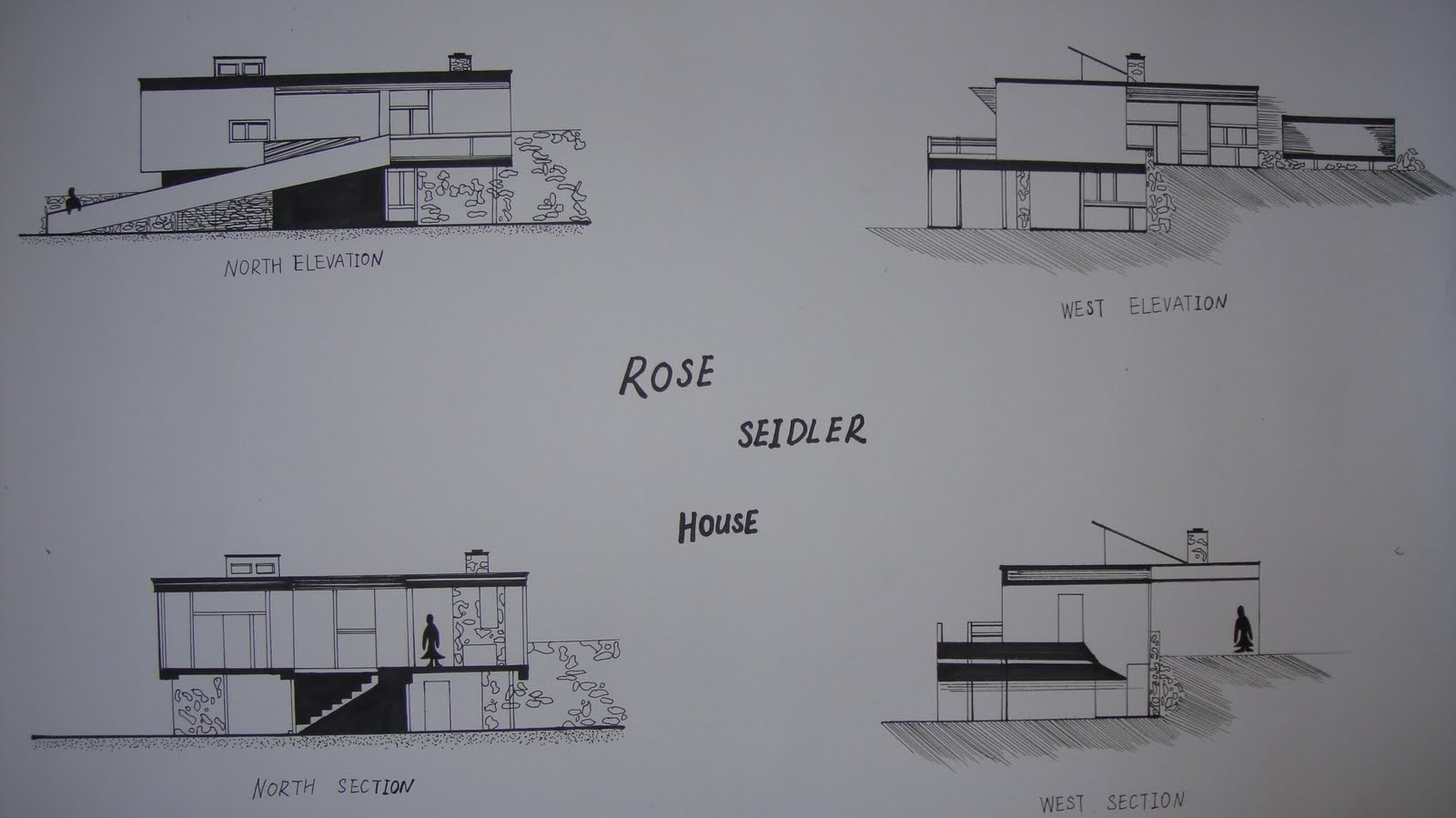 Rose Seidler House Floor Plans Interior