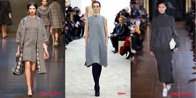 Tendencias mujer otoño/invierno 2013/14 color gris