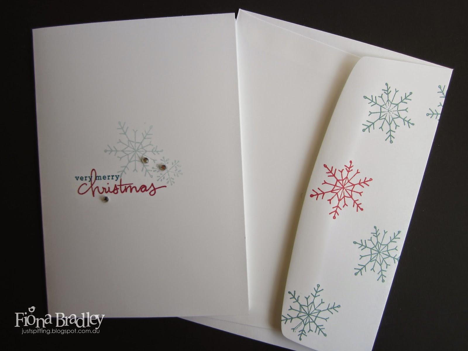 Christmas cards in bulk - Handmade by Fiona