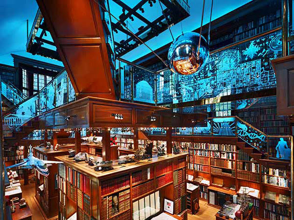 15 lindas bibliotecas particulares