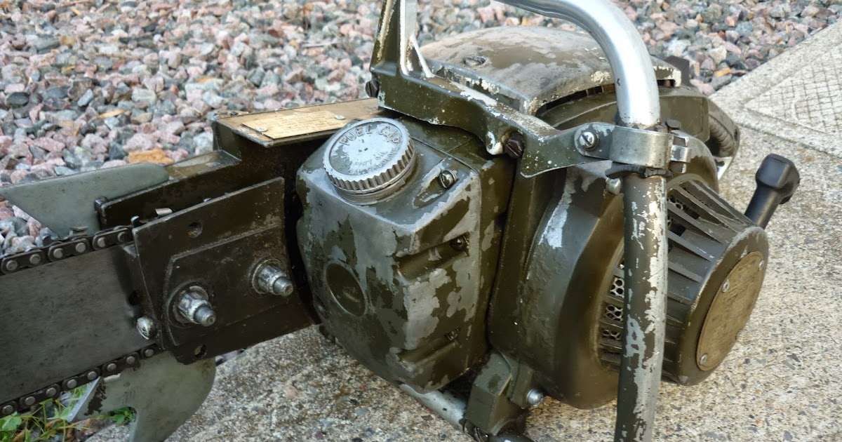 Vintage chainsaw collection remington 754g gear drive military
