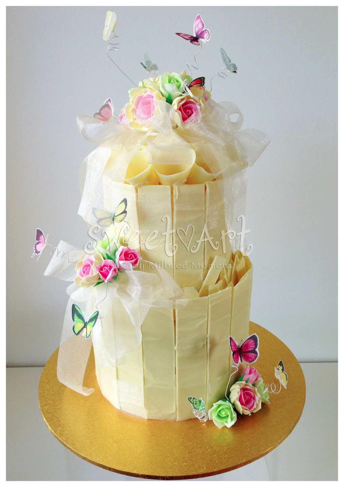 Sweet Art Cakes by Milbreé Moments: Thevinia & Asi\'s White Chocolate ...