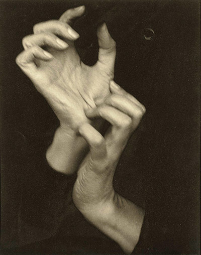 Alfred Stieglitz's Georgia O'Keeffe (Hands)
