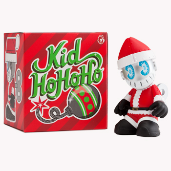 KidHoHoHo Mini Bot and Packaging by Kidrobot