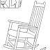 Desenhos de Cadeiras para Colorir
