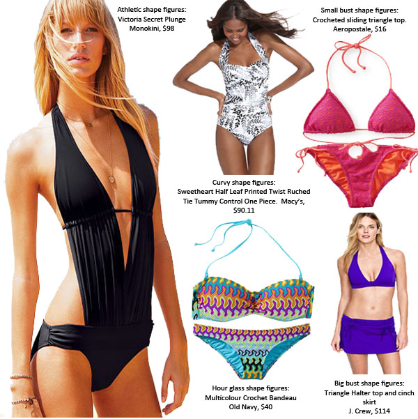 Sense of Expression: Swimsuits for all body types