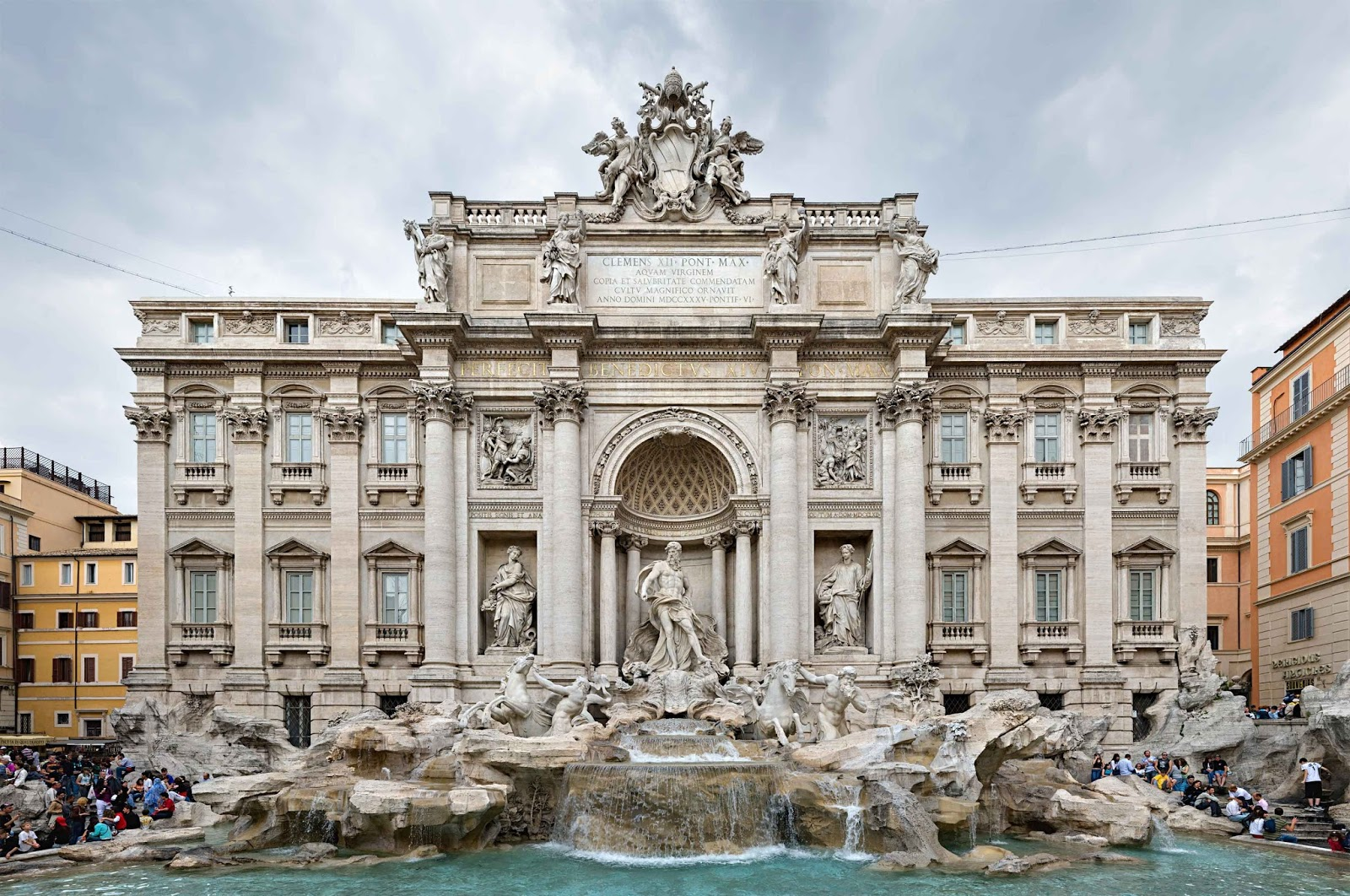 The Trevi Fountain - credit trevifountain.net