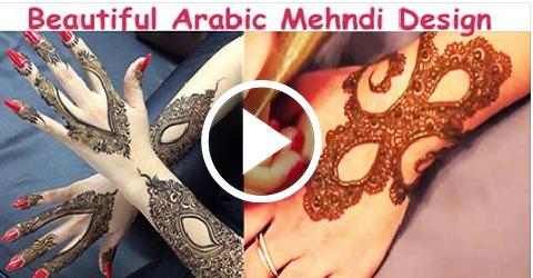 Beautiful Arabic Mehndi Design For Eid 2015