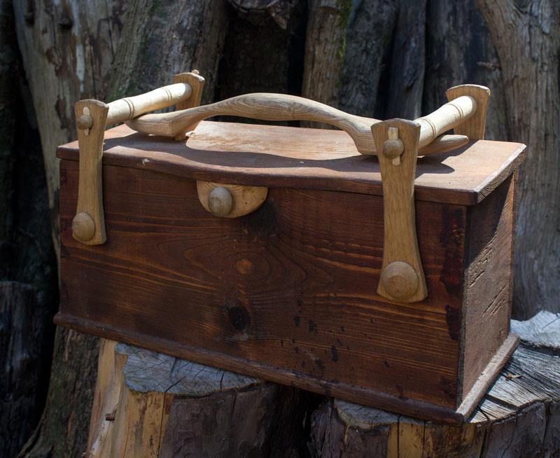 sean hellman tool box and spoon rack