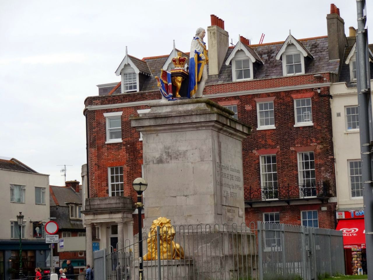 The King's Statue, Weymouth