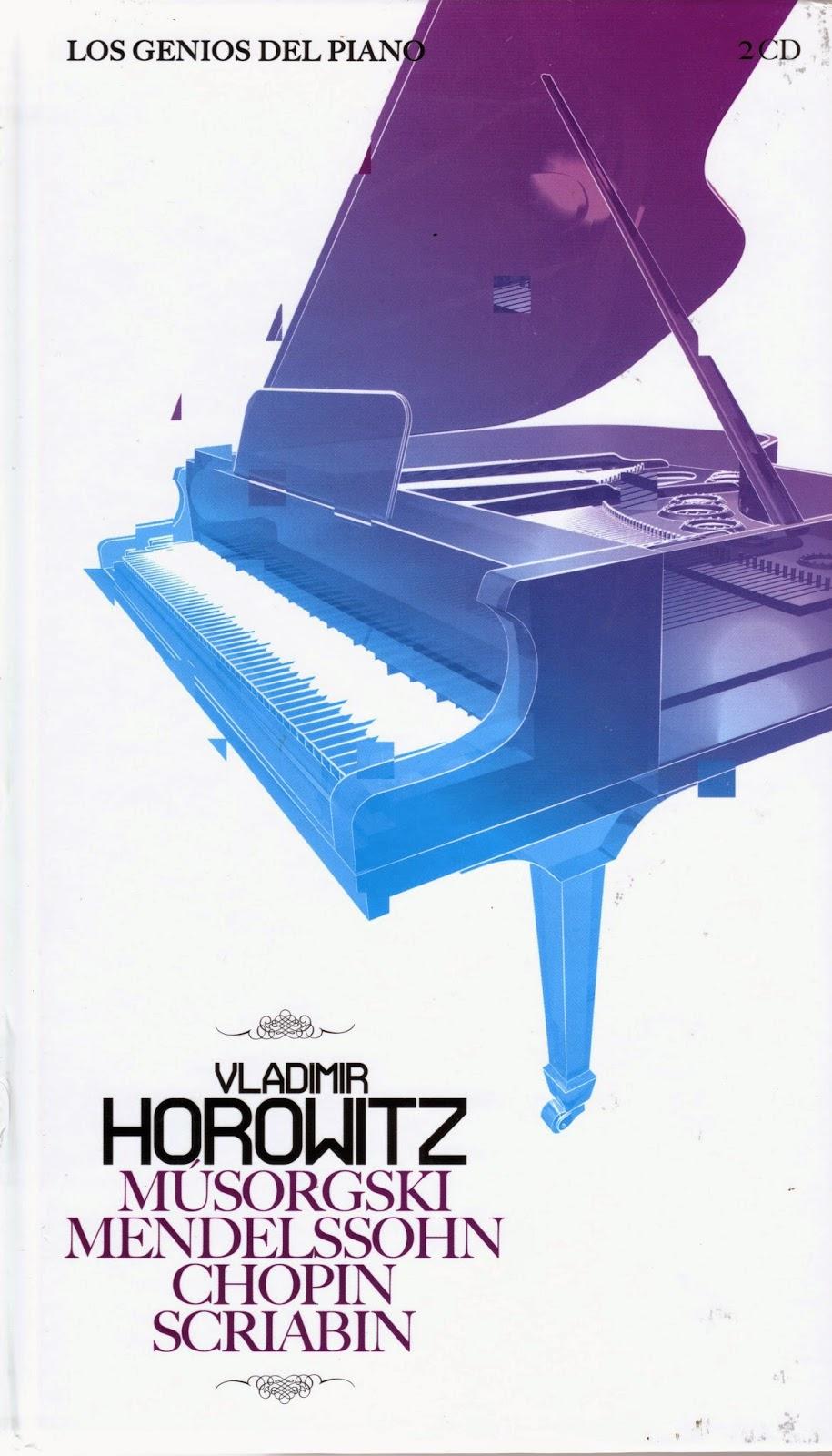 Imagen de Colección Los Genios del Piano-08-Vladimir Horowitz & Musorgski, Mendelssohn, Chopin y Scriabin
