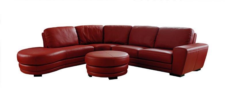 Muebles en cuero for Muebles de sala de cuero