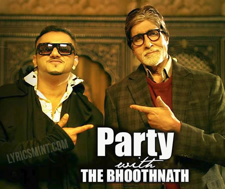 Party With Bhoothnath - Honey Singh, Amitabh Bachchan