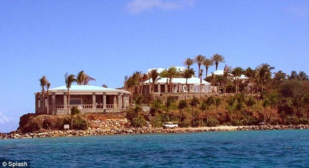 Jeffrey Epstein S Private Island Little St James