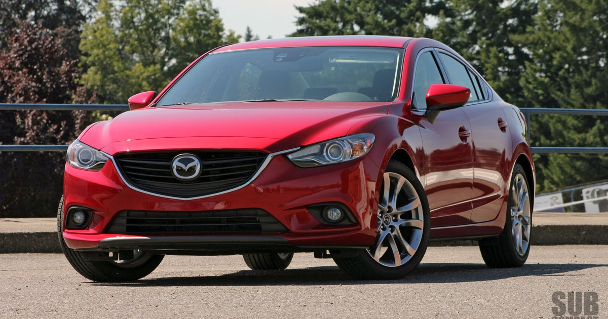 a bit bigger 2014 mazda6 i grand touring subcompact. Black Bedroom Furniture Sets. Home Design Ideas