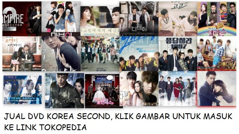 JUAL DVD KOREA