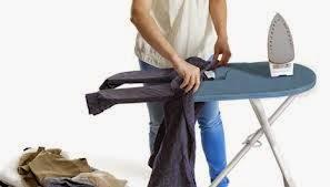 Cara Mudah Menyetrika Pakaian